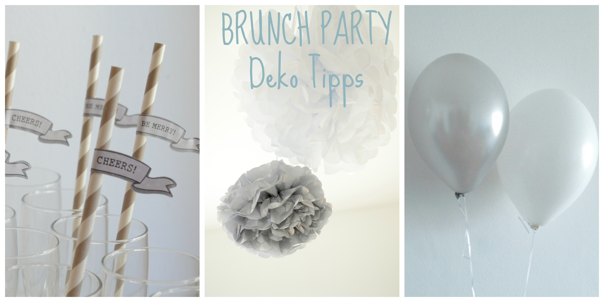 Brunch Party Decor