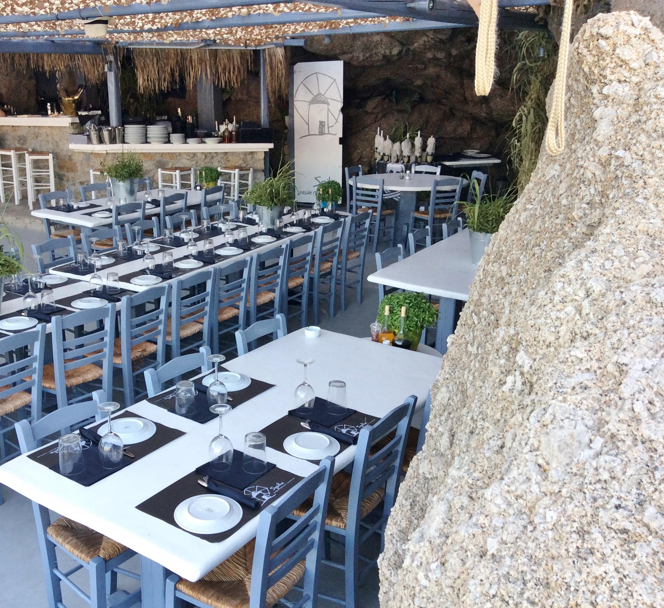 Spilie Restaurant Mykonos