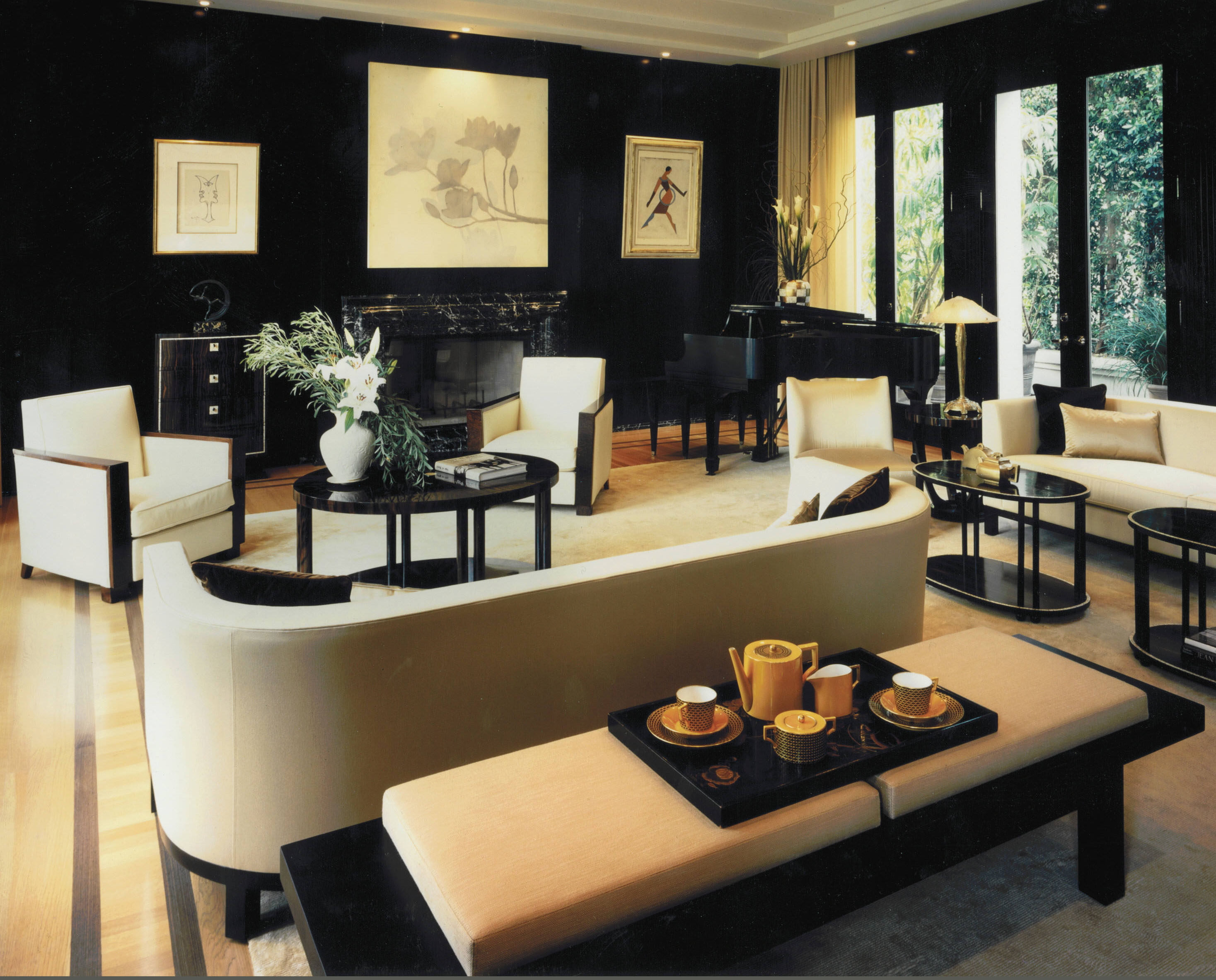 Art deco trends in interiors for The interior deco